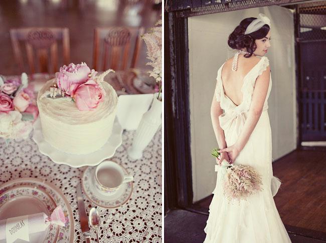 1920s wedding ideas 17 Under the Veil of a Fairytale