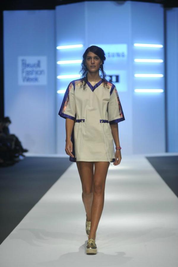 ivan rocco bela haljina 34. Perwoll Fashion Week: Zona 45