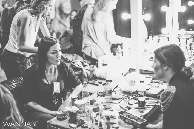 belgrade fashion week 17 Backstage 36. Perwoll Fashion Week (prvi deo)