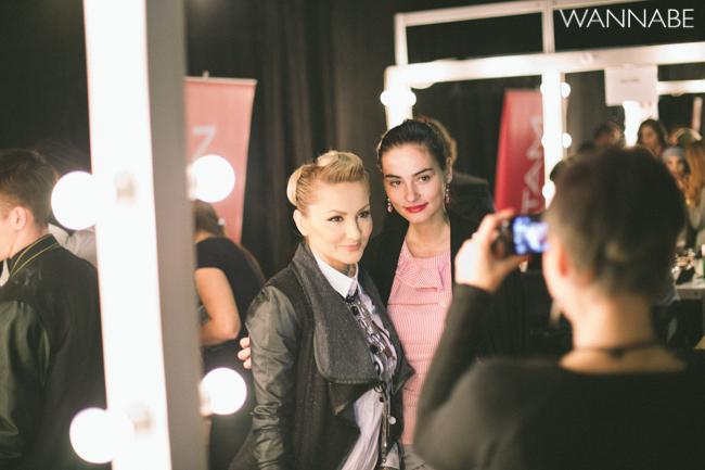 belgrade fashion week 19 Backstage 36. Perwoll Fashion Week (prvi deo)