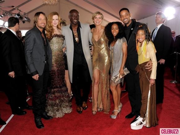 willow smith and family at grammys 1 580x435 53. dodela Grammy nagrada