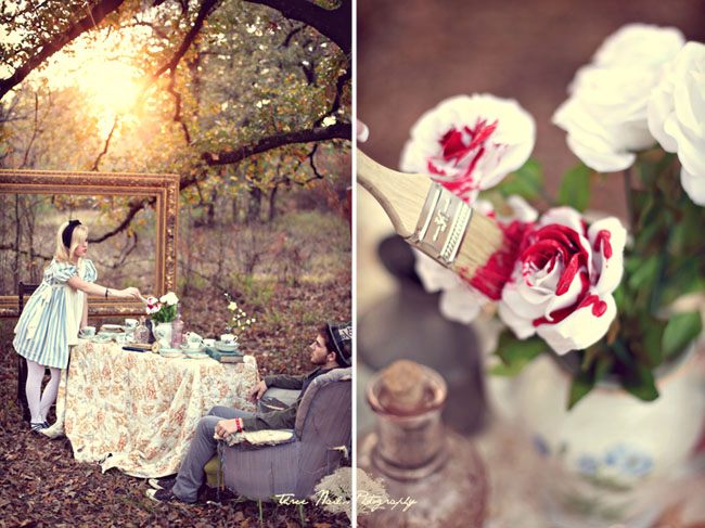wonderland engagement photos 09 Under the Veil of a Fairytale