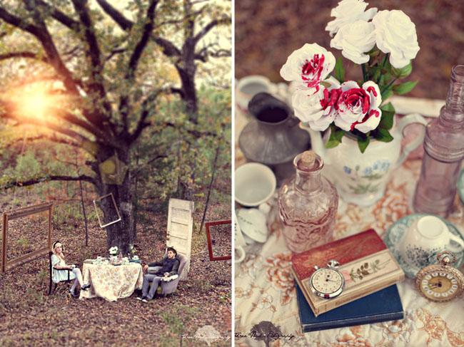 wonderland engagement photos 10 Under the Veil of a Fairytale