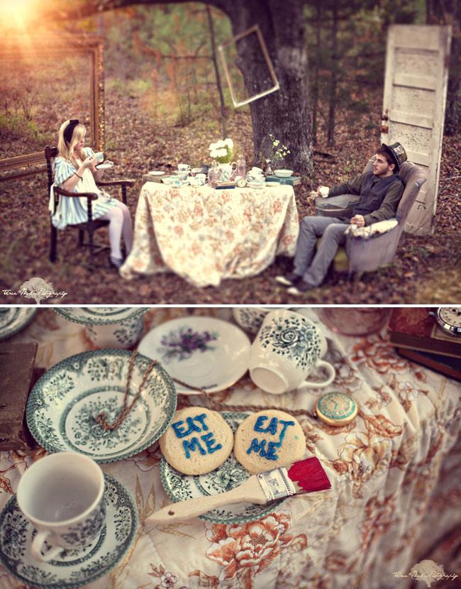 wonderland engagement photos 11 Under the Veil of a Fairytale