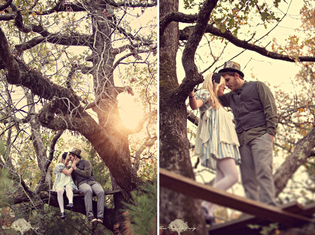 wonderland engagement photos 13 Under the Veil of a Fairytale