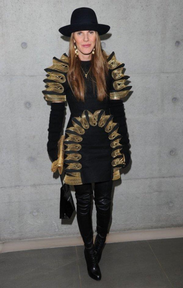 anna dello russo black Anna Dello Russo: modni manijak