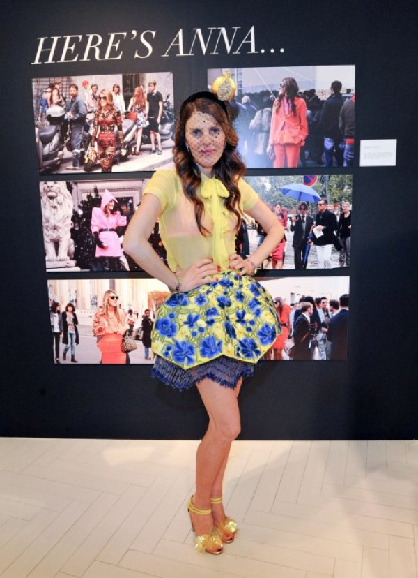 anna dello russo skirt Anna Dello Russo: modni manijak