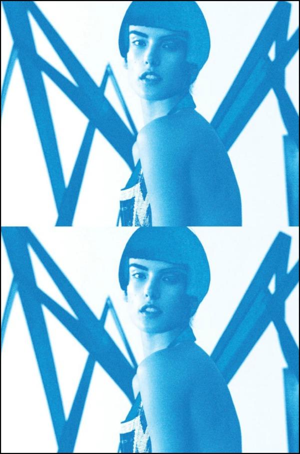 a 4 Alessandra Ambrosio za Muse: Androgeni anđeo