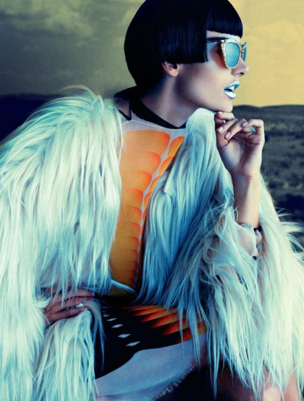 a 9 Alessandra Ambrosio za Muse: Androgeni anđeo
