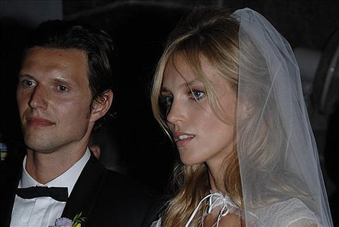 anja rubik sasha knezevic wedding 1 Celebrity Wedding: Anja Rubik & Saša Knežević