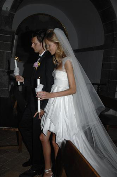 anja rubik sasha knezevic wedding 2 Celebrity Wedding: Anja Rubik & Saša Knežević
