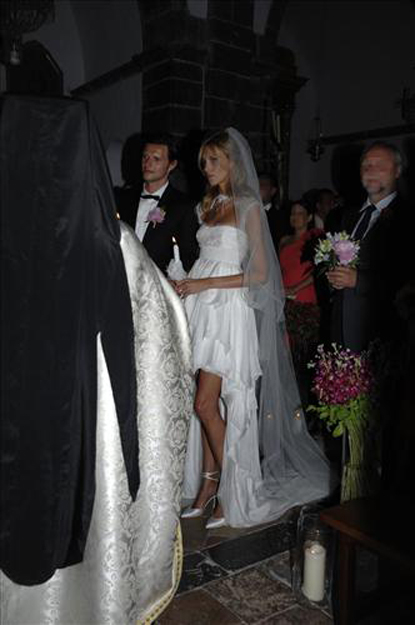 anja rubik sasha knezevic wedding 5 Celebrity Wedding: Anja Rubik & Saša Knežević