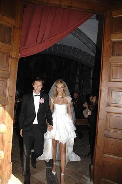 anja rubik sasha knezevic wedding 6 Celebrity Wedding: Anja Rubik & Saša Knežević