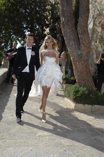 anja rubik sasha knezevic wedding 7 Celebrity Wedding: Anja Rubik & Saša Knežević