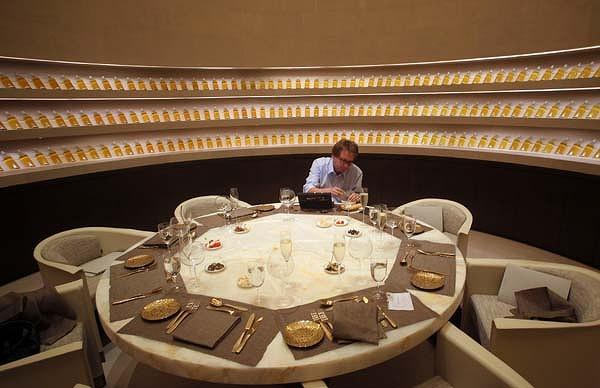 armani hotel dubai restaurant 600x400 Lokacija kao efektan aksesoar