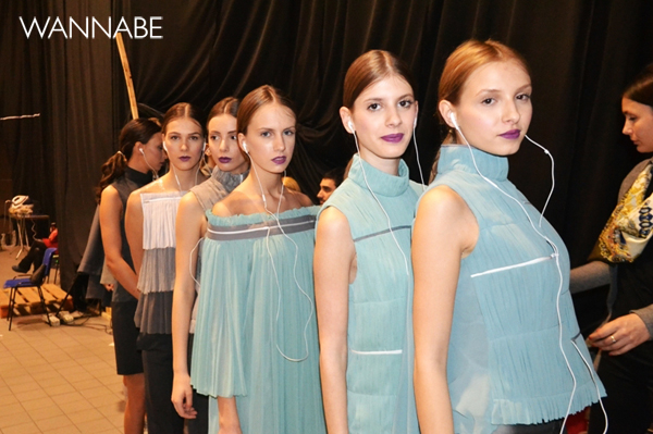 bfw4 Backstage iz ugla jedne manekenke: Drugi dan 33. Perwoll Fashion Week a