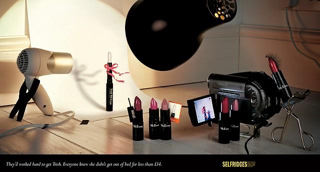advertising selfridges co Bela Borsodi