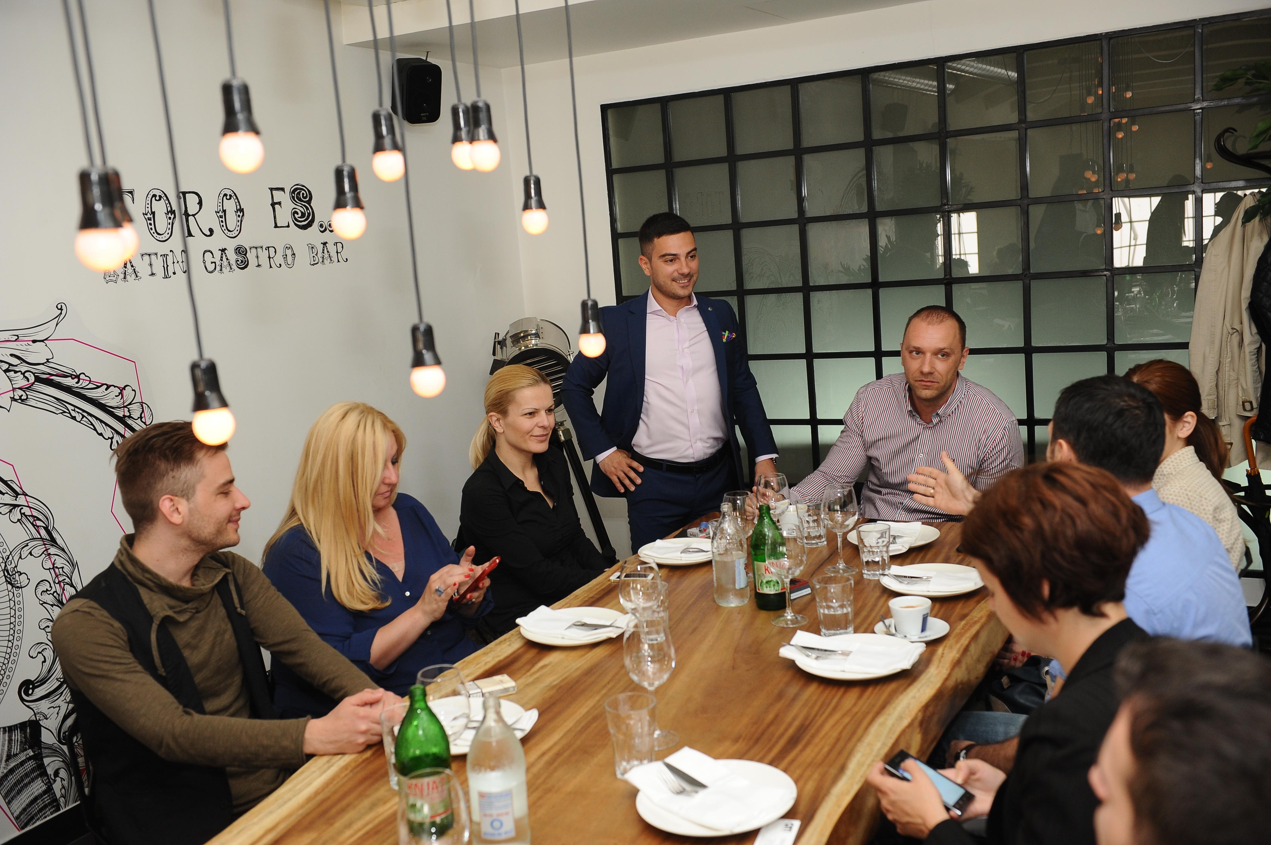 promocija vina 121 Beogradska rivijera: Roze vina iz Provanse