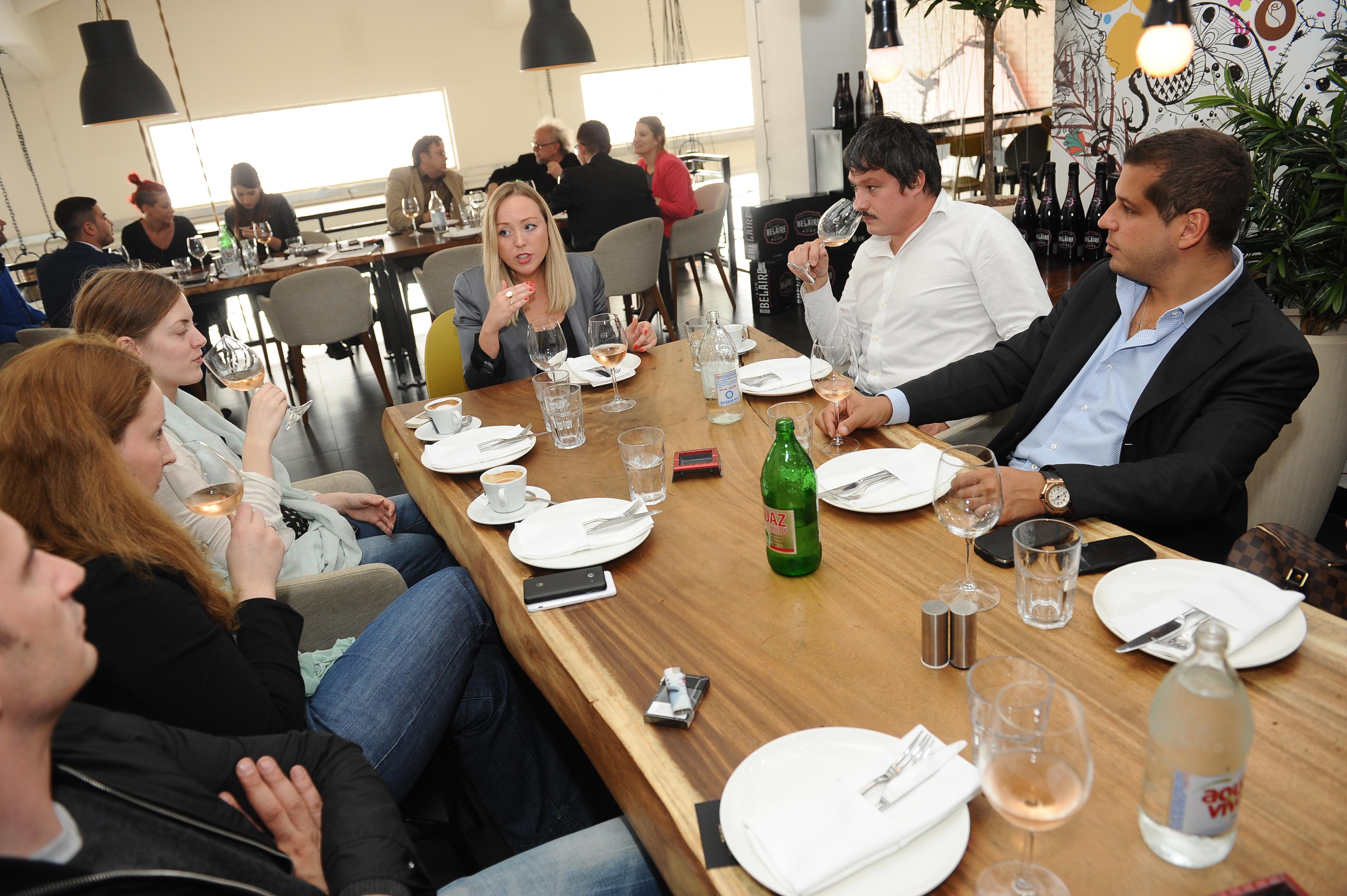 promocija vina 179 Beogradska rivijera: Roze vina iz Provanse