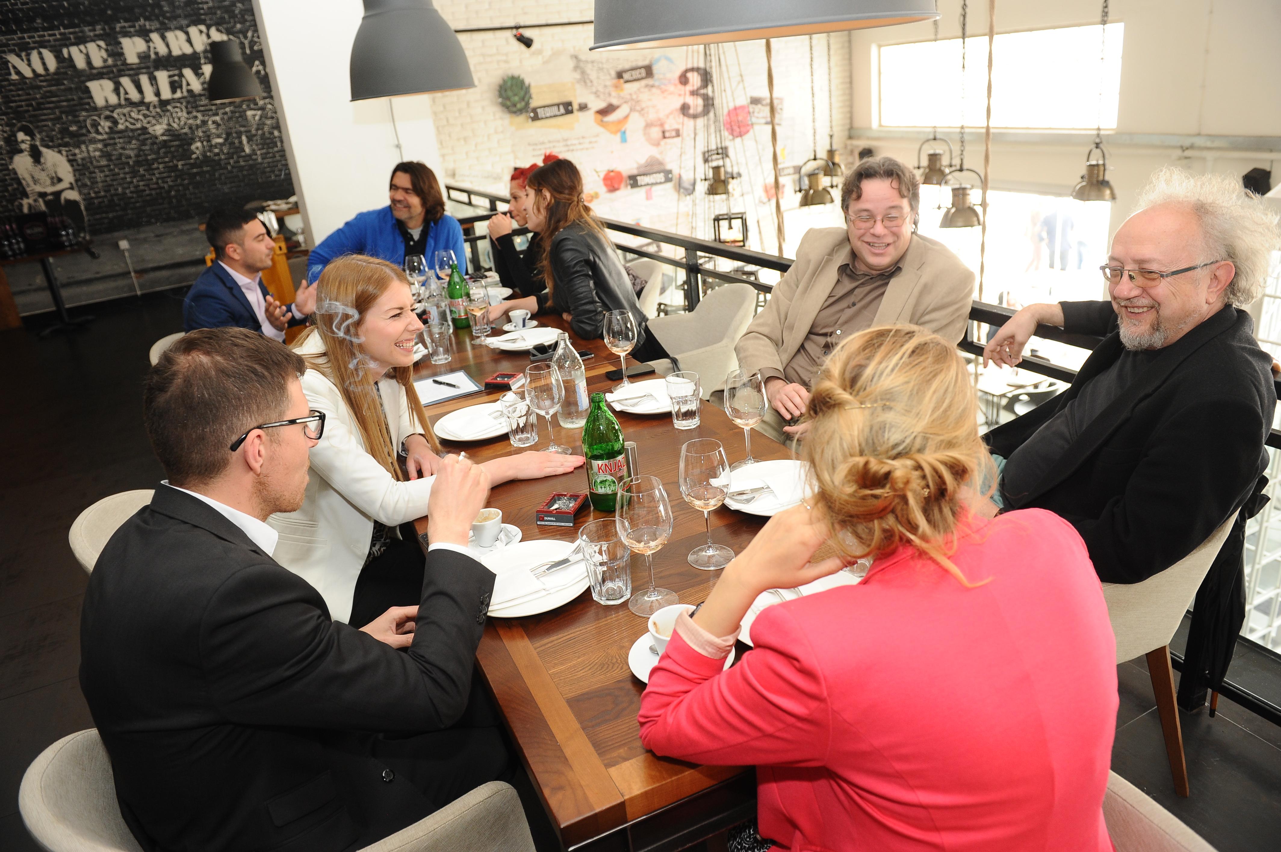 promocija vina 198 Beogradska rivijera: Roze vina iz Provanse