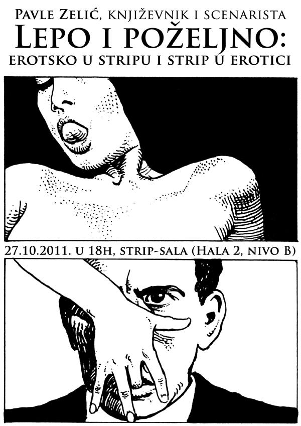 erotsko plakat copy Beogradski Sajam knjiga: poziv na dešavanja u Strip sali