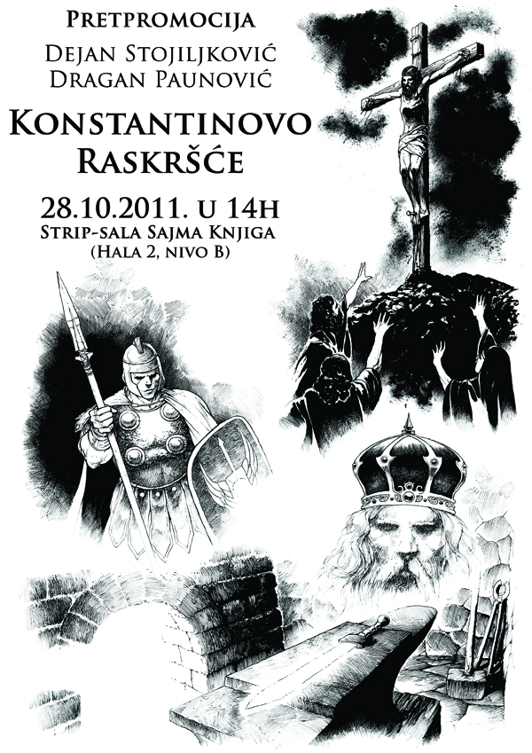 konstantinovo plakat 3 Beogradski Sajam knjiga: poziv na dešavanja u Strip sali