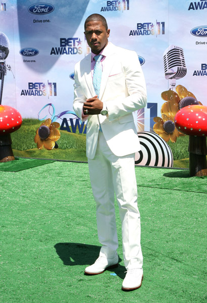 nick cannon BET Awards 2011.
