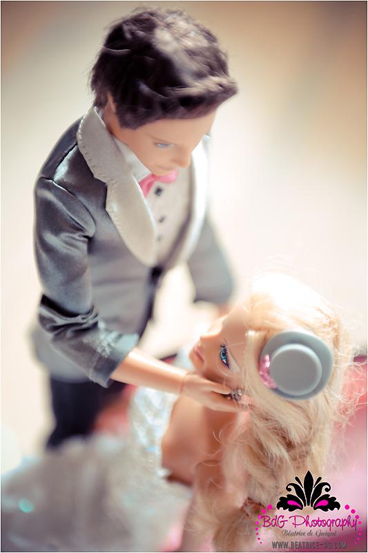 bk 129 Barbie and Ken Got Married!