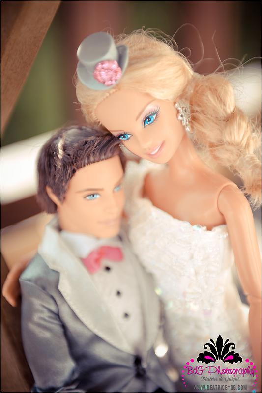 bk 140 Barbie and Ken Got Married!
