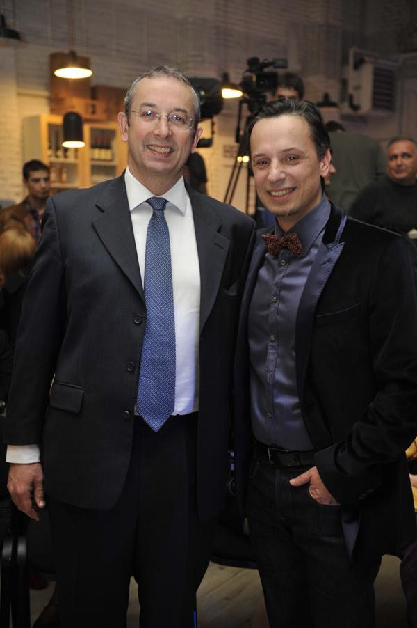"britanski ambasador i nenad r 33. Belgrade Fashion Week: ""British Day"""