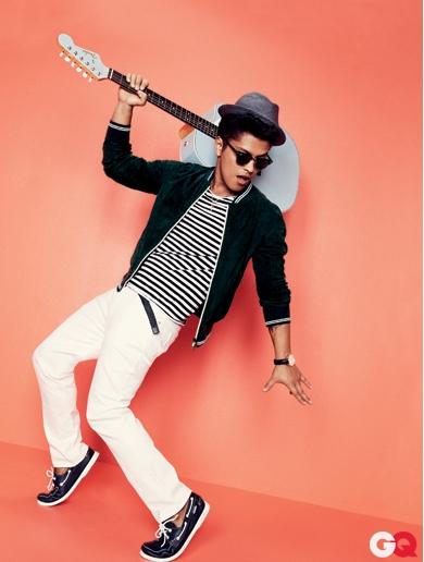 bruno mars06 Bruno Mars za aprilski GQ
