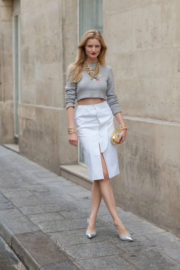bela suknja Na kafi sa trendseterkom: Candice Lake