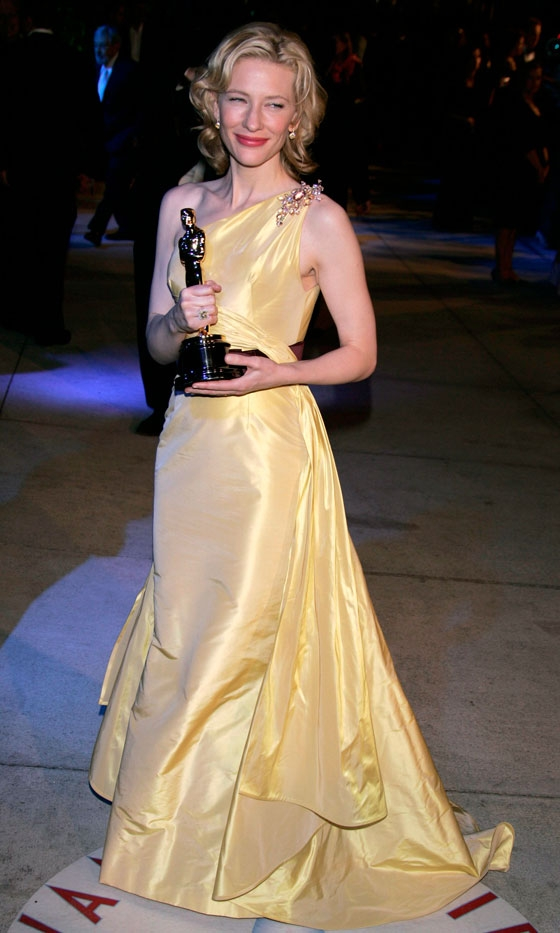 cate blanchett wearing valentino couture at the 2005 oscars Upoznajte: Cate Blanchett