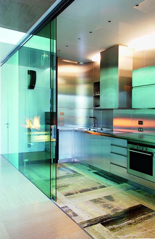 exotic colorful kitchen lighting Lokacija kao efektan aksesoar