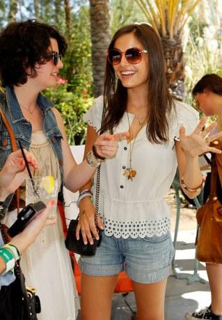 camilla belle in mulberry at 2011 coachella The Coachella 2011.