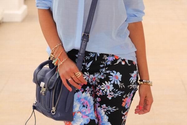 slika 11 Cvetne pantalone