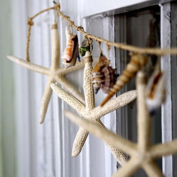 6 Uradi sam: Detalji za dom od školjki i peska