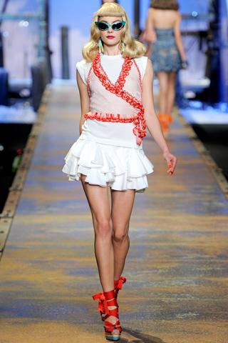 00190m Christian Dior za proleće/leto 2011.