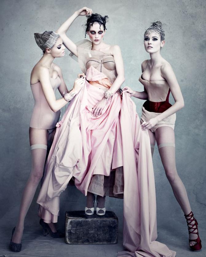 dior couture by patrick demarchelier 2 Patrik Demaršelije: Francuski kralj modne fotografije