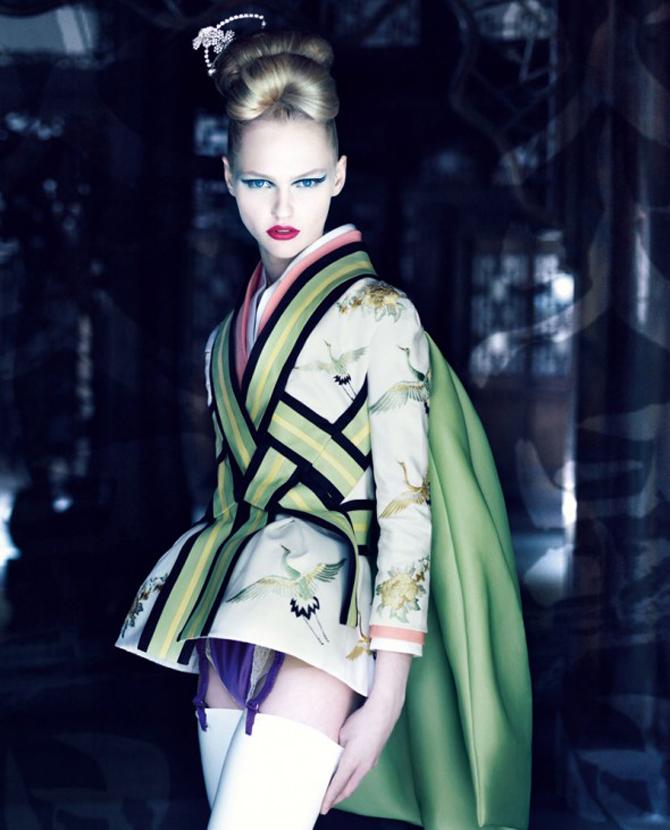 dior couture by patrick demarchelier 3 Patrik Demaršelije: Francuski kralj modne fotografije