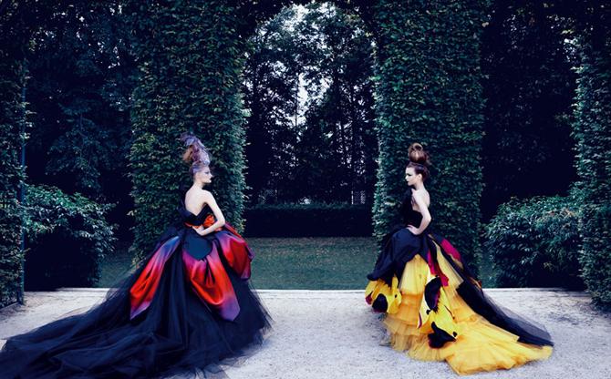 dior couture by patrick demarchelier 4 Patrik Demaršelije: Francuski kralj modne fotografije