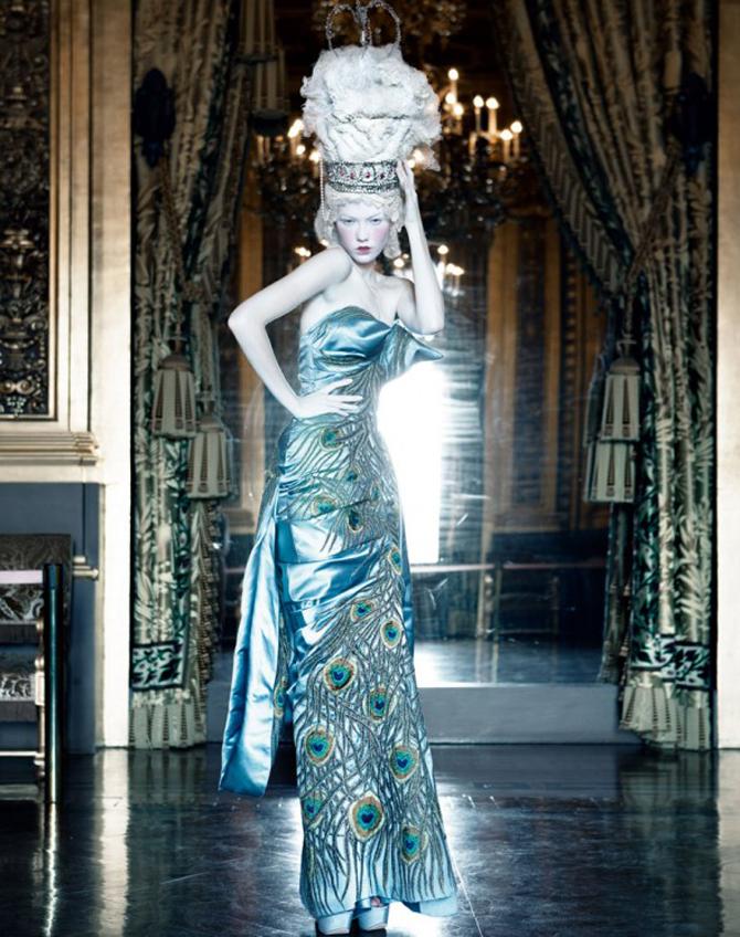 dior couture by patrick demarchelier 5 Patrik Demaršelije: Francuski kralj modne fotografije