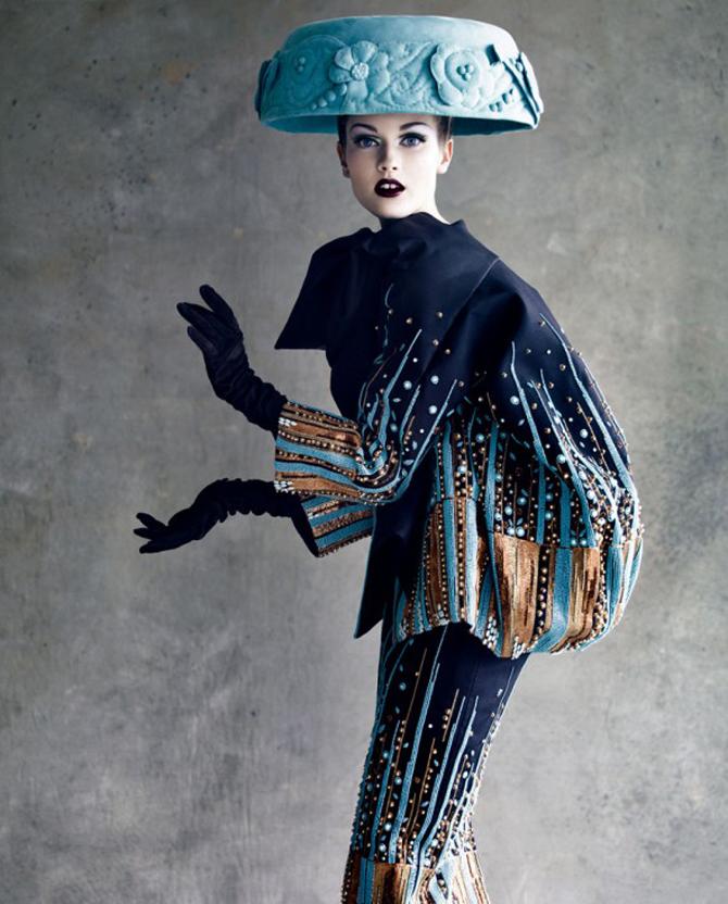 dior couture by patrick demarchelier 0 Patrik Demaršelije: Francuski kralj modne fotografije