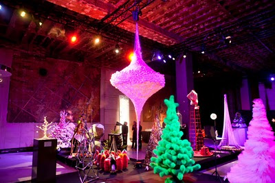 damien da rocha center Haute Couture božićna drvca
