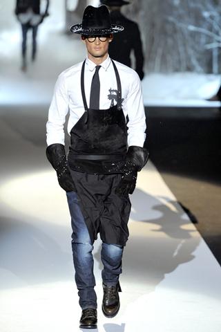 dsq2 Fashion moMENts: Runway Fashion
