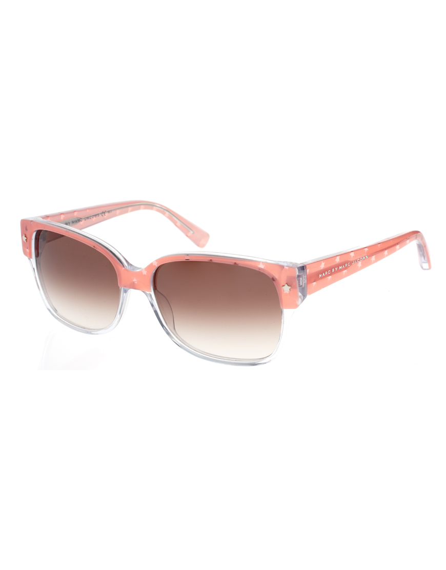 marc by marc jacobs two tone star sunglasses Modni trend: Fantastična pink