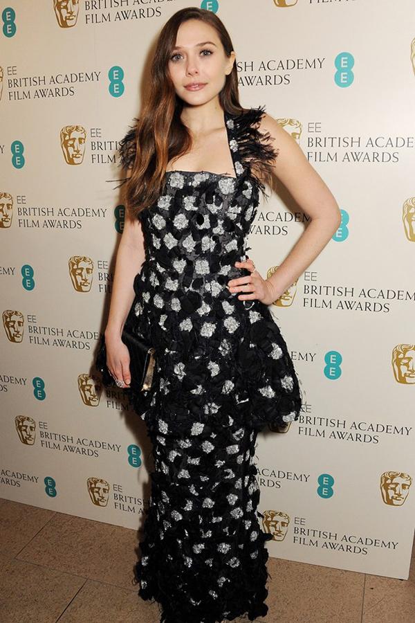 eolsen v 10feb13 getty b 592x888 Fashion Police: BAFTA Awards 2013