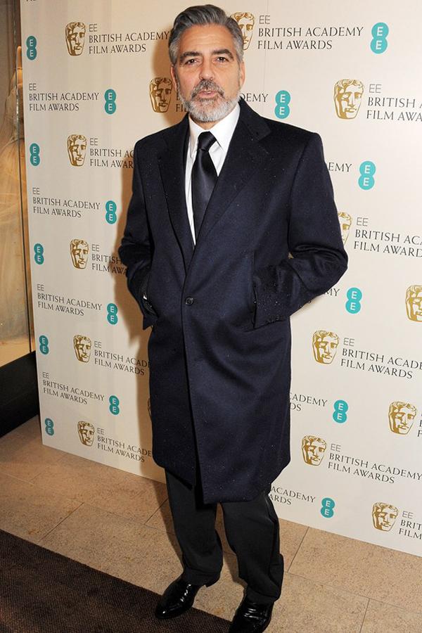 gclooney v 10feb13 getty b 592x888 Fashion Police: BAFTA Awards 2013