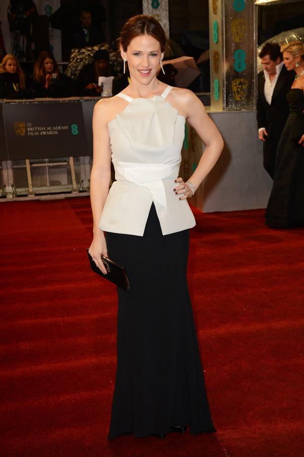 jgarner v 10feb13 getty b Fashion Police: BAFTA Awards 2013