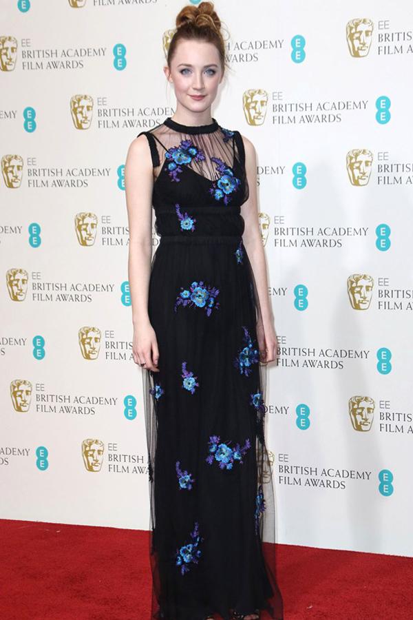 sronan v 11feb13 rex b 592x888 Fashion Police: BAFTA Awards 2013